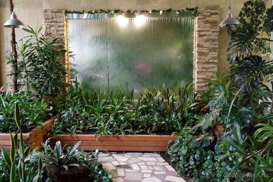 Зимний сад в санатории Нальчик