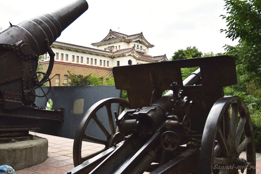 Музейные пушки